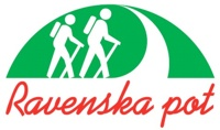 Znak oz. logo Ravenske poti