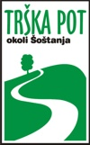Znak oz. logo Trške poti okoli Šoštanja