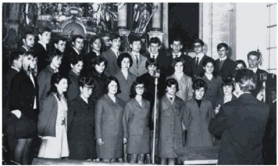 Zbor v letu 1970